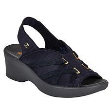 Bzees Firefly Peep Toe Slingback Sandal