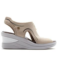 Bzees Vinny Zip-Up Slingback Sandal