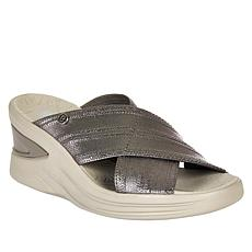 Bzees Vista X-Band Wedge Slide Sandal