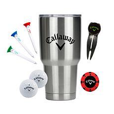 Callaway 30oz Tumbler Golf Gift Set