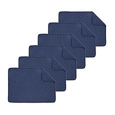 C&F Home Abbott Navy Placemat Set of 6