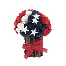 C&F Home Americana Flower Bundle