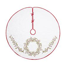C&F Home Berry Garland Tree Skirt