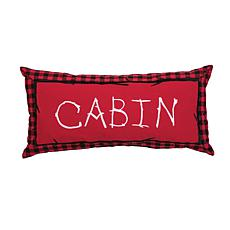 C&F Home Buffalo Check Cabin Pillow