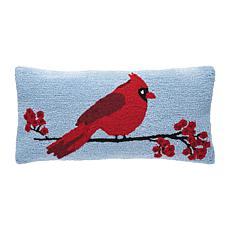 C&F Home Cardinal Berry Branch Pillow