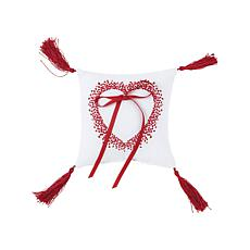 C&F Home Faded Heart Wedding Ring Pillow