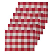 C&F Home Franklin Red Placemat Set of 6