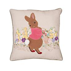 C&F Home Garden Bunny Ribbon Art Ribbon