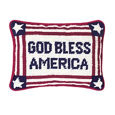 C&F Home God Bless America Pillow