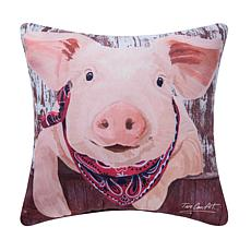 C&F Home Pig Indoor/Outdoor Pillow