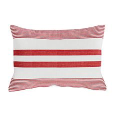 C&F Home Red & White Pillow