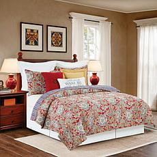 C&F Home Rhapsody Paisley Quilt Set - King