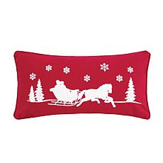 C&F Home Sleigh Ride Pillow 1
