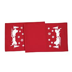 C&F Home Sleigh Ride Table Runner