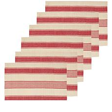 C&F Home Stowe Cotton Placemat Set of 6