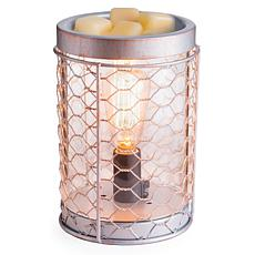 Candle Warmers Etc. Chicken Wire Vintage Bulb Wax Warmer