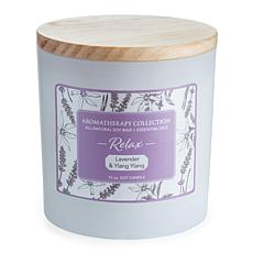 Candle Warmers Relax Aromatherapy 15 oz. Soy Wax Candle