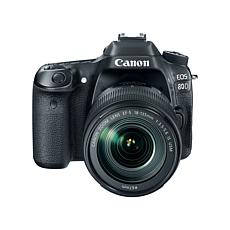 Canon EOS 80D 24.2MP Digital SLR Camera with EF-S 18-135mm Lens, 8G...