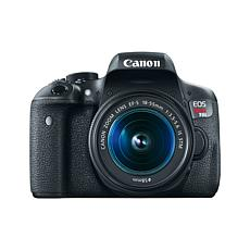 Canon EOS Rebel T6i 24.2MP Digital SLR Camera with EF-S 18-55mm Lens