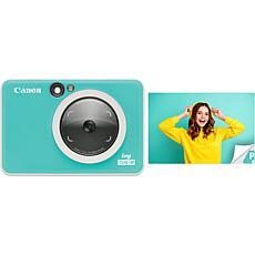 Canon IVY CLIQ2 Instant Camera Printer - Turquoise (Matte)