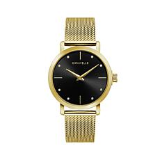 Caravelle by Bulova Women's Goldtone Mesh Bracelet Watch