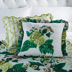 Carleton Varney 100% Cotton Fazenda Lily Pillow Duo