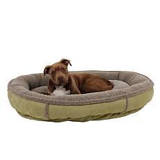 Carolina Pet Co. Faux Suede Comfy Cup Pet Bed - Large