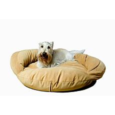 Carolina Pet Company Velvet Microfiber Bolster Bed