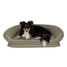 Carolina Pet Sm/Md Classic Canvas Bolster Pet Bed