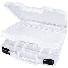 "Carrying Case w/Lift-Out Tray - 15"" x 3-1/4"" x 14-1/3"""