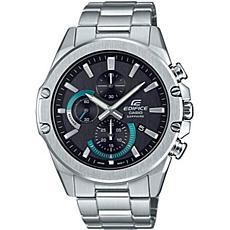 Casio Edifice Stainless Steel Men's Slim Chronograph Watch