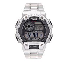 Casio Men's AE1400WHD-1AV Stainless Steel Digital Chronograph Watch