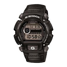 Casio Men's G-Shock Gray Nylon Strap Digital Watch