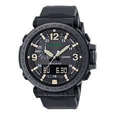 Casio Men's Pro Trek Solar Powered Triple Sensor Watch