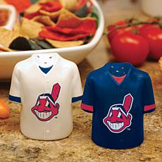 Ceramic Salt and Pepper Shakers - Cleveland Indians