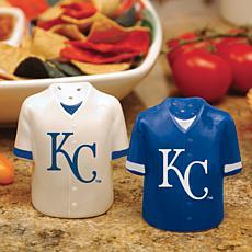Ceramic Salt and Pepper Shakers - Kansas City Royals