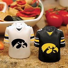 Ceramic Salt and Pepper Shakers - Univ of Iowa Hawkeyes