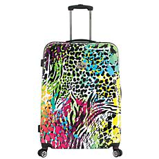 Chariot 20-inch Hardside Carry On Luggage - Leopard