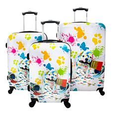 Chariot 3-piece Hardside Luggage Set - Paint