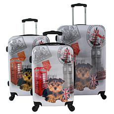 Chariot 3-piece Hardside Luggage Set - UK
