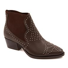 Charles by Chares David Zach Studded Leather Bootie