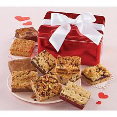 Cheryl's 10-piece Valentine Brownie Tin