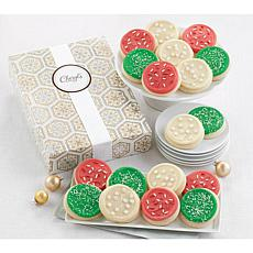 Cheryl's 18pc Holiday Cutout Cookie Box