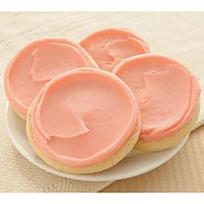 Cheryl's 24-Piece Frosted Strawberry Cookies