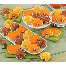 Cheryl's 24-piece Thanksgiving Cutout Cookies