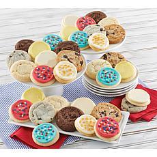 Cheryl's 36-Piece Americana Summer Cookies