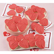 Cheryl's 36 Red Heart Cutouts