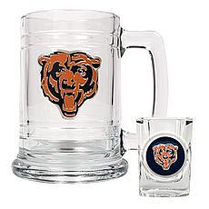 Chicago Bears Boilermaker Set
