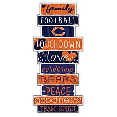 """Chicago Bears Celebrations Stack 24"""" Sign"""