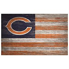 Chicago Bears Distressed Flag 11x19